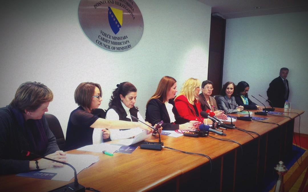 15.MEDITERRANEAN WOMEN IN LEADERSHIP AND CIVIL SOCIETY CONFERENCE-Sarajevo, November 8-12,2013