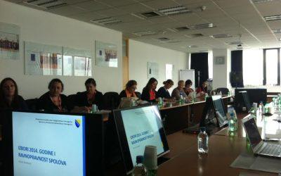 Održan sastanak sa predstavnicima nevladinih organizacija u BiH