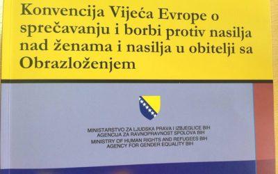 Usvojen Izvještaj o realizaciji Okvirne strategije za provedbu Istanbulske Konvencije u BiH