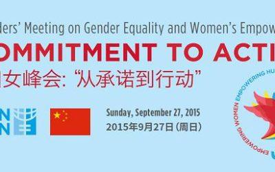 Globalni sastanak na temu ravnopravnosti spolova i osnaživanju žena