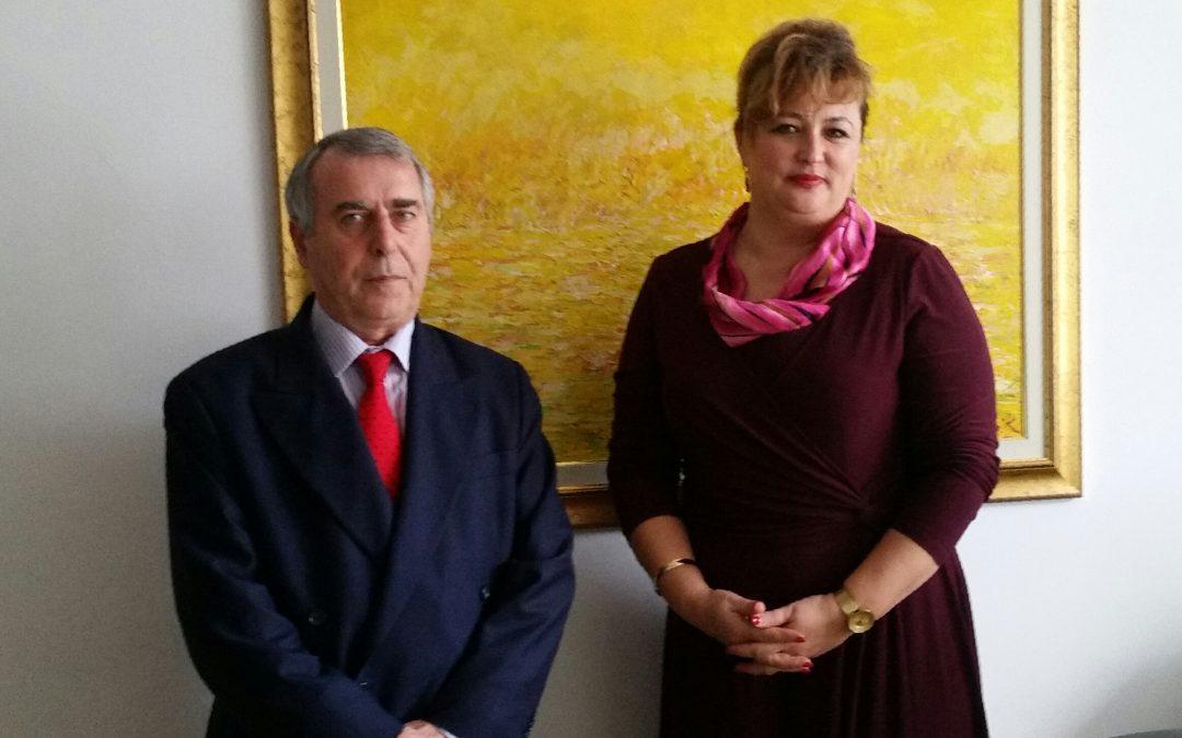 Direktorica Agencije za ravnopravnost spolova BiH na sastanku sa ambasadorom Grčke u BiH