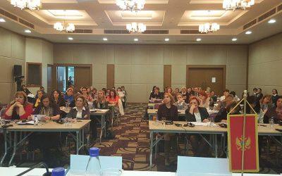 """Međunarodna konferencija """"Opšte i specijalizovane usluge podrške za žene sa iskustvom nasilja – garancije dostupnosti i kvaliteta usluge i Radionica Taiex, Odjeljenja za poslove rodne ravnopravnosti Ministarstva za ljudska i manjinska prava Crne Gore"""
