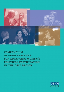New ODIHR publication on increased participation of women in politics