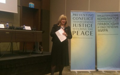 Prevencija sukoba, transformacija pravde, osiguravanje mira