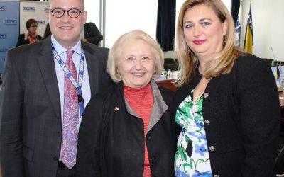 Sastanci sa ambasadoricom Melani Verveer