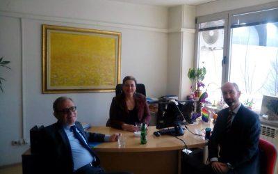 Sastanak predsjedavajuće Koordinacionog odbora 1325 sa Ambasadorom Španije u BiH