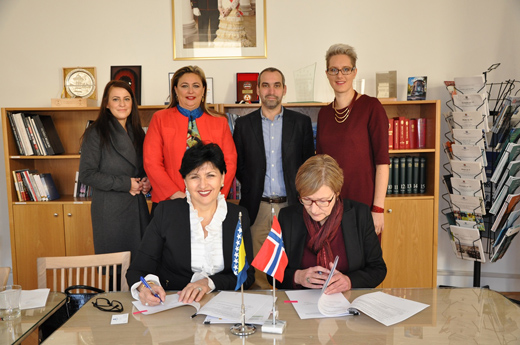 Borovac i Rusten potpisale Sporazum o grantu vrijednom više od 185.000 KM