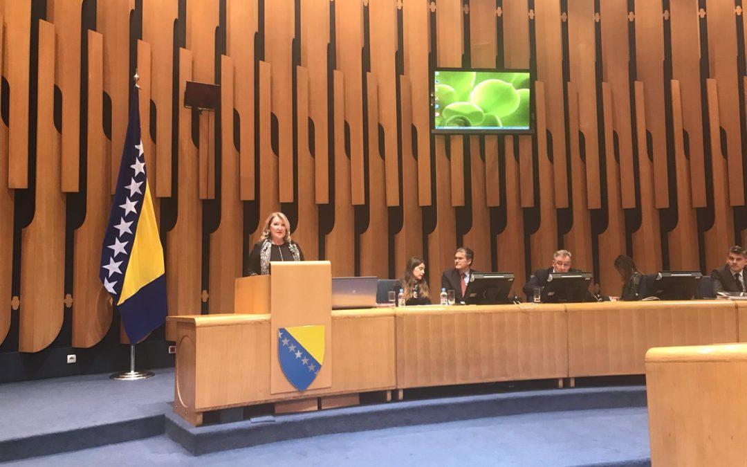 """Održana tematska sjednica: """" Kako do rodno odgovornog budžeta: uloga parlamenta"""""""