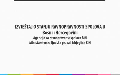 Stanje ravnopravnosti spolova u Bosni i Hercegovini