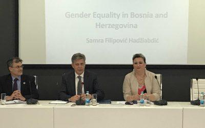 Sastanak Međunarodne radne skupine za pitanja rodne ravnopravnosti