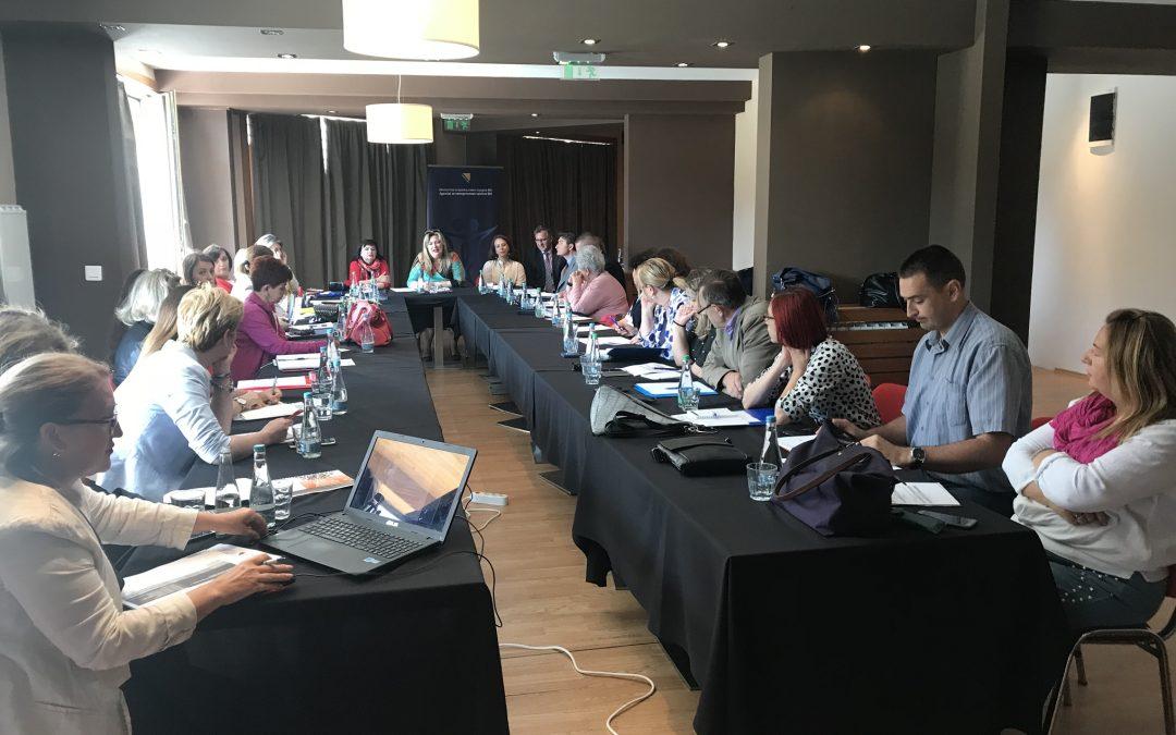 Zajednički sastanak koordinacionih odbora Gender akcionog plana BiH i Akcionog plana za implementaciju UNSCR 1325