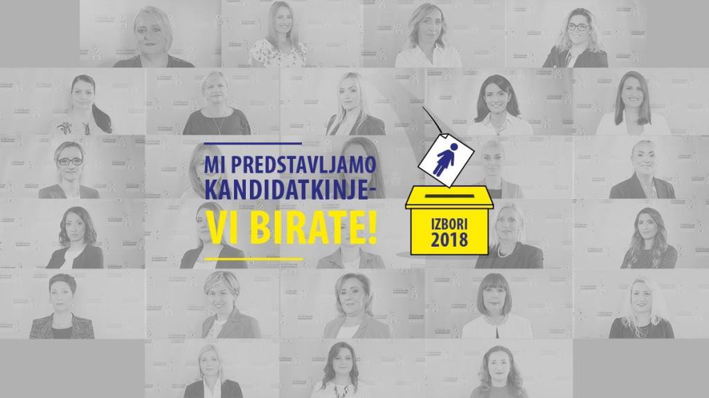 Mogu li žene na izborima 2018. dobiti više pozicija u vlasti?