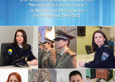 "Action Plan for the implementation of the UN Security Council Resolution 1325 ""Women, Peace and Security"" in Bosnia and Herzegovina for the period 2018-2022"