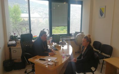 Sastanak direktorice Agencije sa višom savjetnicom Irenom Marr