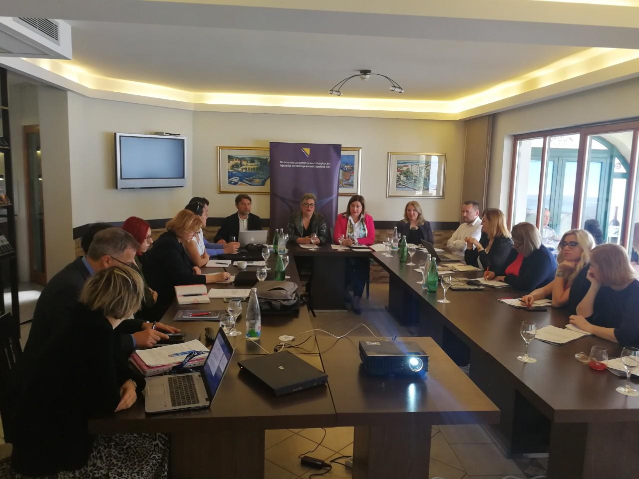 """""""U susret izvještavanju Bosne i Hercegovine Komitetu GREVIO Savjeta Evrope"""""""