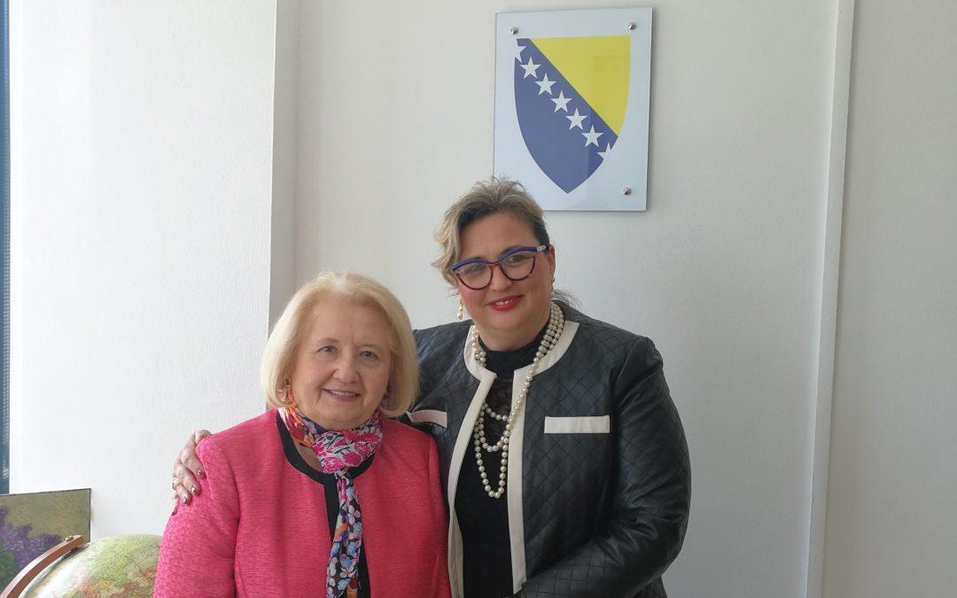 Sastanak direktorice Agencije i Ambasadorice Verveer