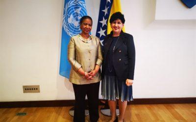 Ministrica Borovac se sastala sa podsekretarkom UN-a i izvršnom direktoricom UN Women Mlambo – Ngcuka