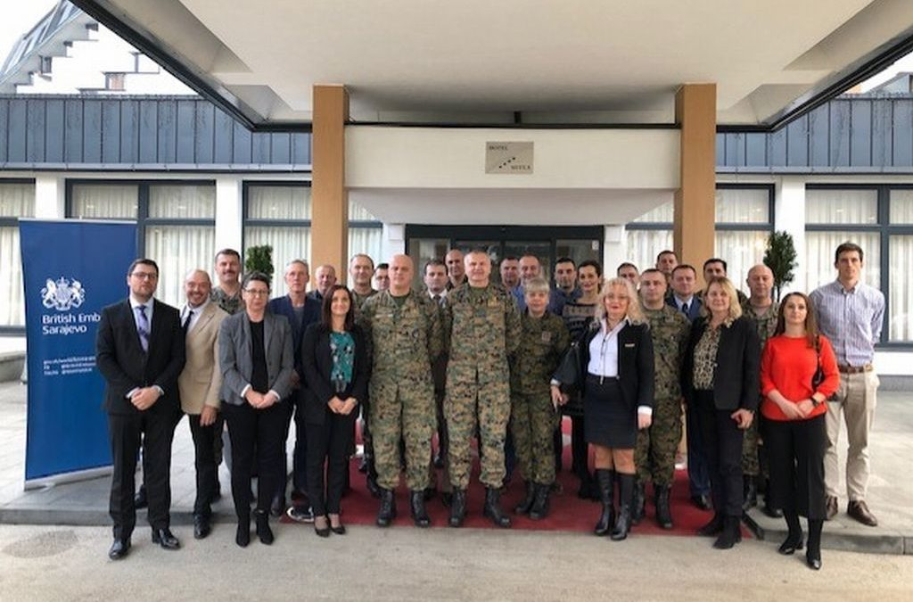 """Radionica o implementaciji zaključaka konferencije Mreže načelnika štabova """"Žene, mir i sigurnost"""""""