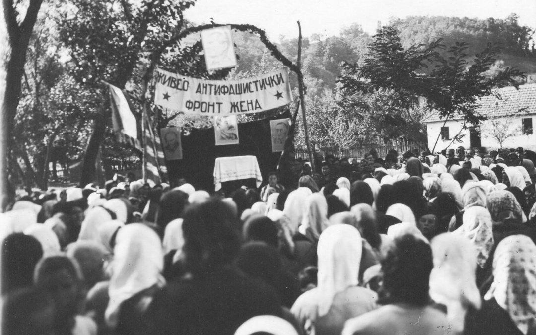 Saopštenje povodom obilježavanja godišnjice Antifašističkog fronta žena Jugoslavije