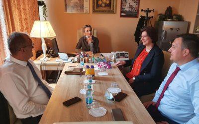 Posjeta ministra za ljudska prava i izbjeglice u Savjetu ministara Gender centru Vlade Republike Srpske