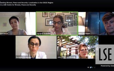 """Prezentacija OSCE Studije  implementacija Agende """"Žene, mir i sigurnost"""""""